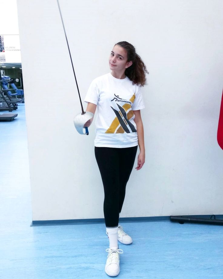 Just casually wearing our club T-shirt 👕😊😎 * Follow my instagram if you love 😍 fencing : ➡ @we_love_fencing_gram 👫Love to tag? Please do!⤵ * . . . . Credit: @fencing_club_praetorian #fencing #fencinglife #fencingposts #fencingteam #fencingtime #fencingclub #fencingcamp #fencinggirl #fencingcoach #fencinglove #fencingislife #fencingprince #fencingsport #fencingisfun #fencingmob #fencingfamily #fencingmask #fencingphotos #fencingmob15 #fencingday #fencingpost #fencingwch2015…