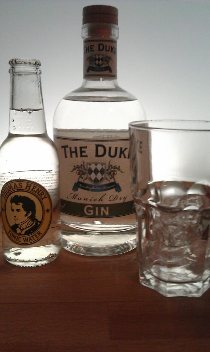 Gin Tonic with The Duke (Munich) and Thomas Henry Tonic Water (Berlin)