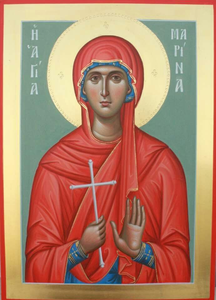 St Marina [Margaret] of Antioch - Great Martyr