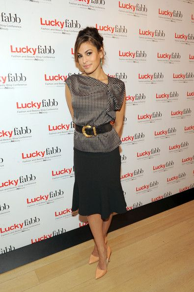 Eva Mendes Photos Photos: Lucky Magazine's FABB Conference in NYC 3