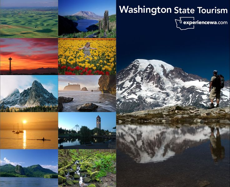 Washington State Tourism | Washington State Tourism – Trade Show Booth | Parts & Labor, Inc