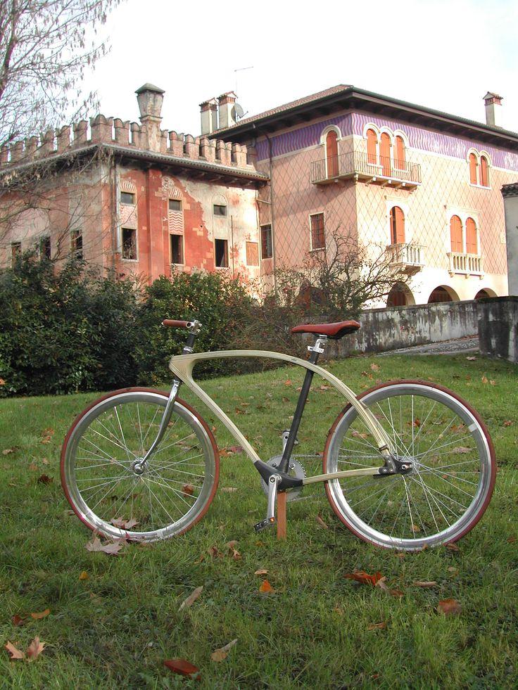 Animus Bike N° 1 Ash wood anc carbon layers