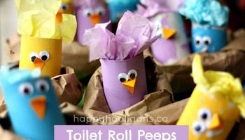 Toilet Roll Chicks (from Happy Hooligans)