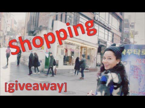 Follow me where I shop in Korea: hongdae beauty box giveaway