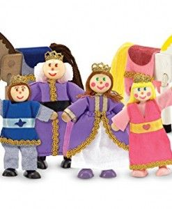 Melissa-Doug-Royal-Family-Wooden-Doll-Set #toys for newborns #newborn baby toys #playskool toys #discount toys #toys for sale #childrens toys #cheap toys for kids #baby doll toys #baby doll toy