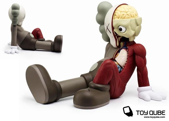 """ToyQube """" Designer Toys, Urban Vinyl, Limited Edition Toys, Art """" Store: KAWS Resting Place Dissected Companion"""