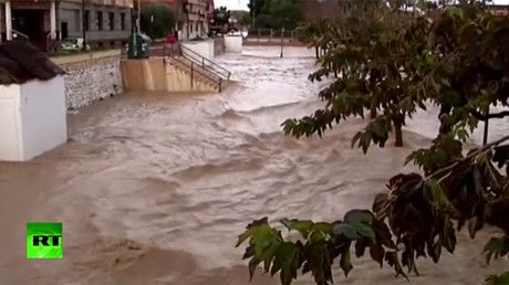 Floods drench southern Spain after torrential rainfall