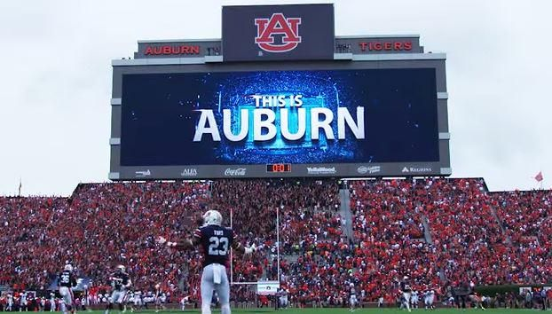 Here's the new hype video Auburn played last Saturday that almost made my head explode: http://bit.ly/1FDSkeI ~ Check this out too ~ RollTideWarEagle.com SEC Football Infotainment. #Auburn #WarEagle
