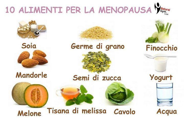 10 Alimenti per la menopausa