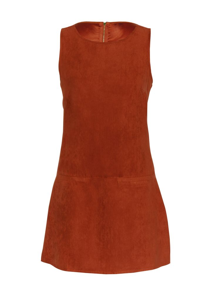 Shift Dress in Brick for R169.99