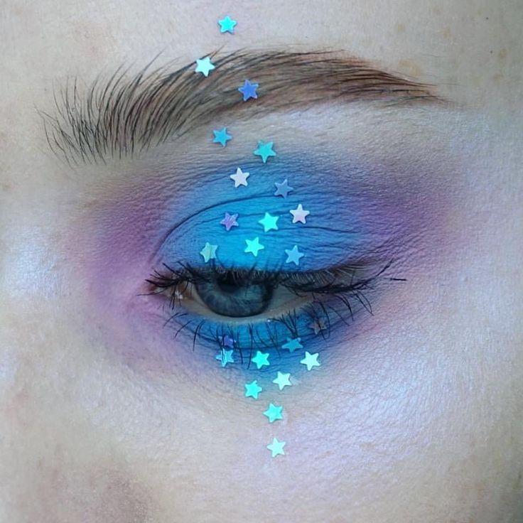 "#pastel #unicorn #makeup 26 Likes, 1 Comments -  FOR ALIENS BY ALIENS  (@alienoutfitters) on Instagram: ""#fetivalmakeup vibes via @thesaraengel ⭐️✨"""