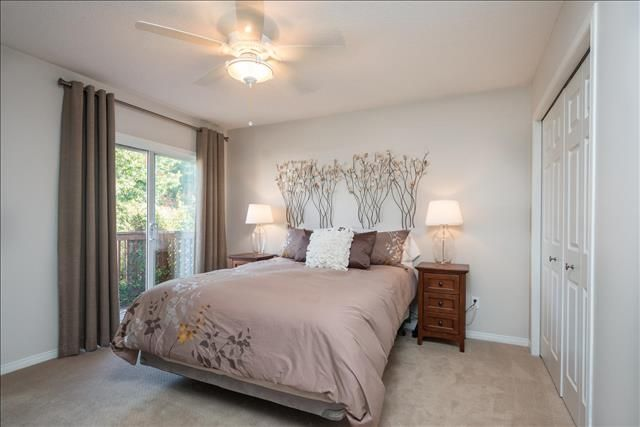 Master Bedroom with Backyard access!