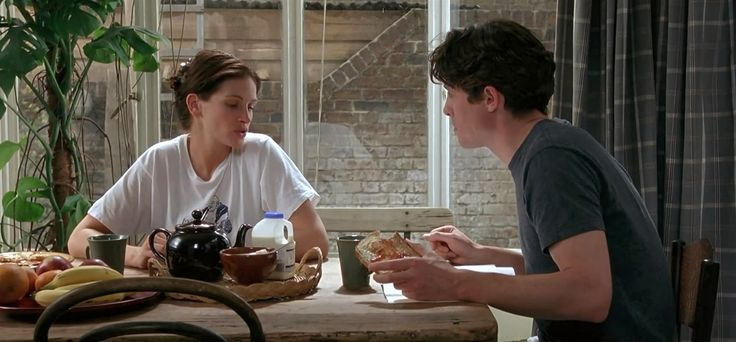 "Hugh Grant as William ""Will"" Thacker   anna scott julia roberts e william thacker hugh grant william"
