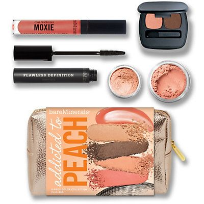 Addicted to Peach-I'm addicted to bare minerals. Such a fresh natural look! Treated myself with this kit for my birthday, it does not disappoint!  Perfect for spring and summer!