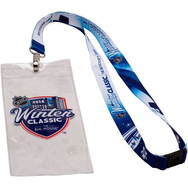 Toronto Maple Leafs 2014 Winter Classic Sublimated Ticket Holder Lanyard - $4.99