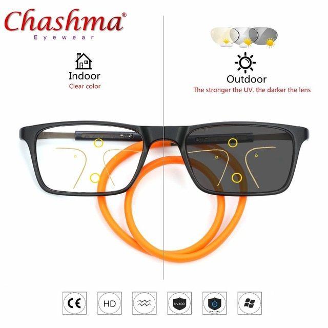 06c407f9b119 Progressive Multifocal glasses Transition Sunglasses Photochromic Reading  Glasses Men Points for Reader Near Far sight Diopter