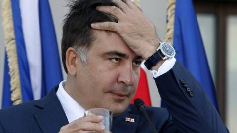Strange Silence of Neo-Con Trolls as Mikheil Saakashvili Stabs His Patron Poroshenko in the Back