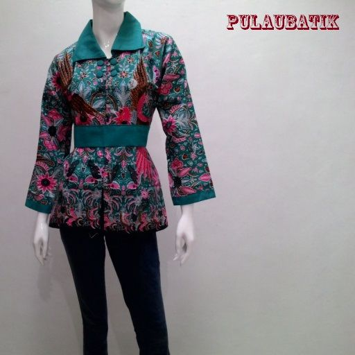 56 best Model Blus Batik images on Pinterest  Muslim Kebaya and