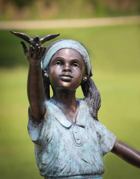 African American Bronze Statues Art The Randolph Rose Collection Statuesque Pinterest Statue Garden And