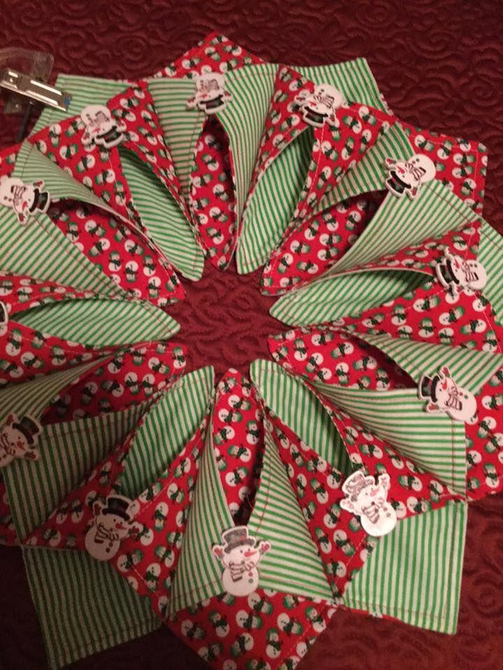 528 besten fold n stitch wreath bilder auf pinterest. Black Bedroom Furniture Sets. Home Design Ideas