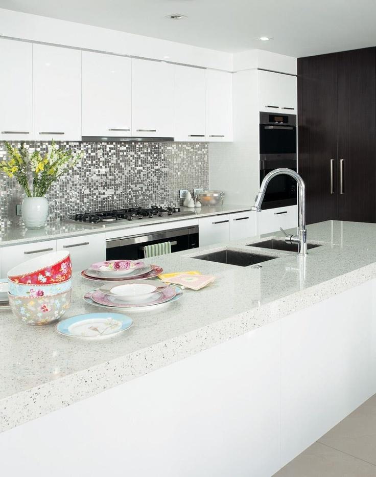 Australian design kitchen. Like sinks