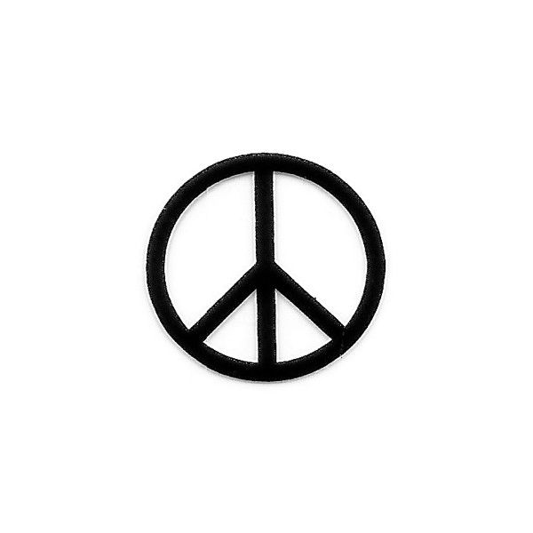 """Tampon Clear Symbole """"Peace and Love"""""""