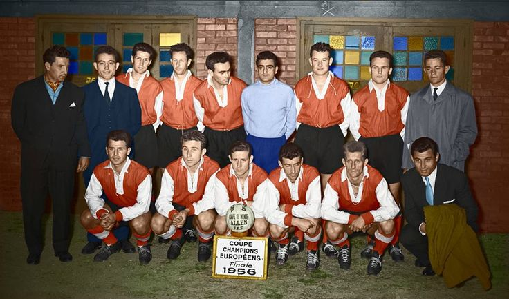 Stade de Reims 1956 colorized by Niki Daskalov