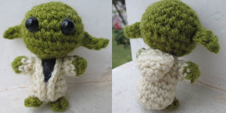 Master Yoda Amigurumi from Star Wars