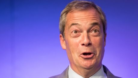 To end 'whining and moaning' over Brexit Nigel Farage proposes referendum re-do