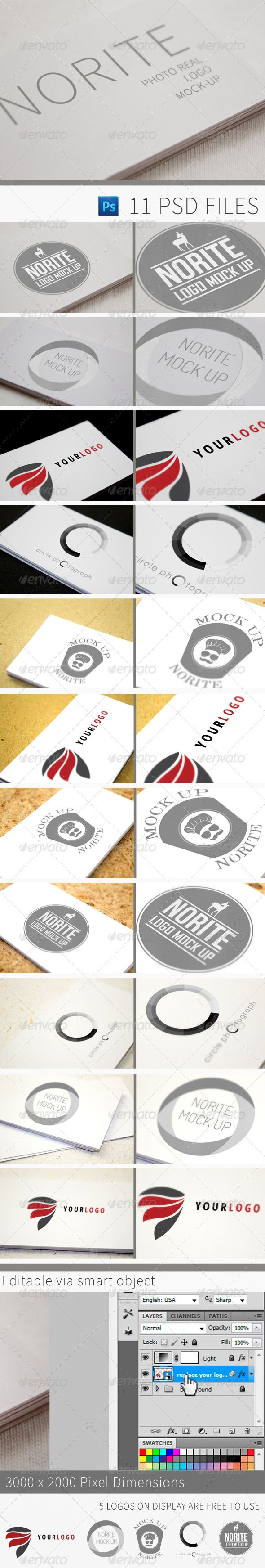 38 best brand identity and stationary mockups images on pinterest norite photo real logo mock up this is my second mock up after making norite business card templates i made this magicingreecefo Gallery