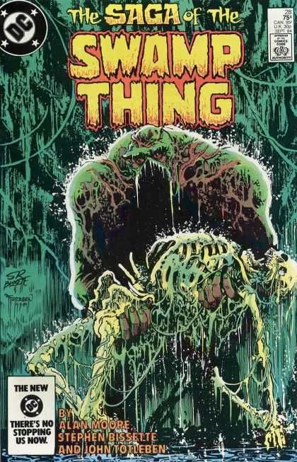 Saga of the Swamp Thing Covers
