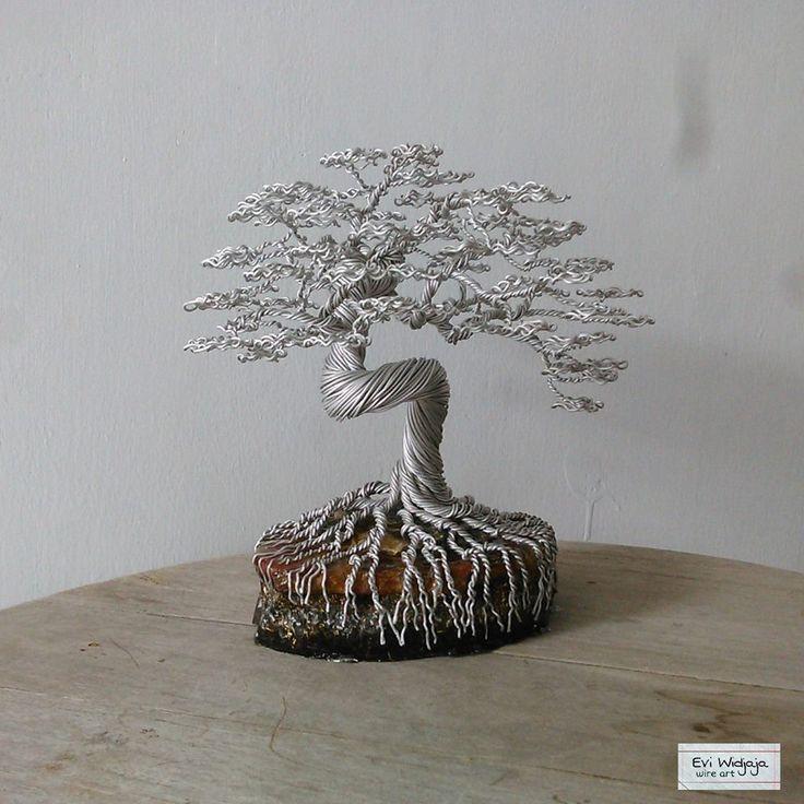 213 besten Wire Bonsai Bilder auf Pinterest
