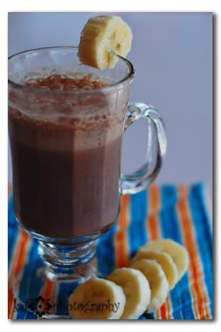 luscious cocoa smoothies