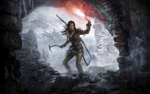 Preview wallpaper rise of the, tomb raider, lara croft, ice ax