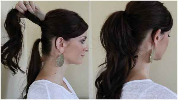 The extra long ponytail   25 Ways To Up Your Ponytail Game