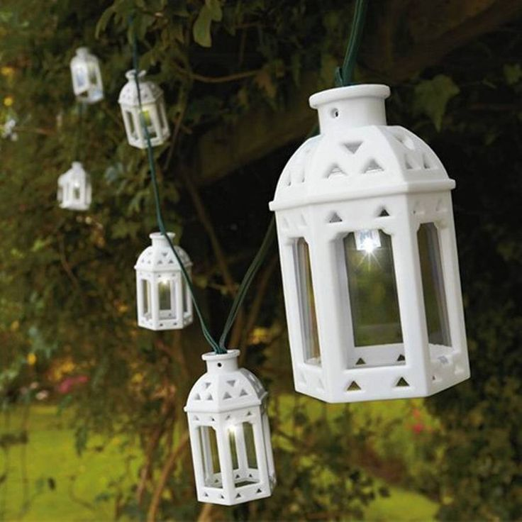 I've just found Sahara Lantern Solar String Lights. These lovely solar string lights are solar powered so ideal for use in the garden and a variety of outdoor spaces.. £24.99