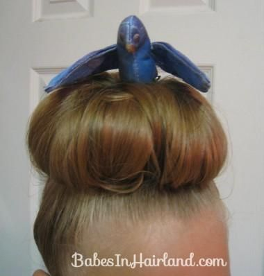 DIY Halloween Hair : Crazy Hair Day Styles