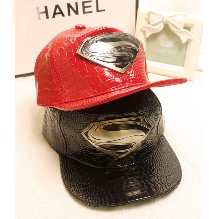Superman Leather Cap //Price: $20.00 & FREE Shipping //     #avengers #justiceleague #superman #spiderman