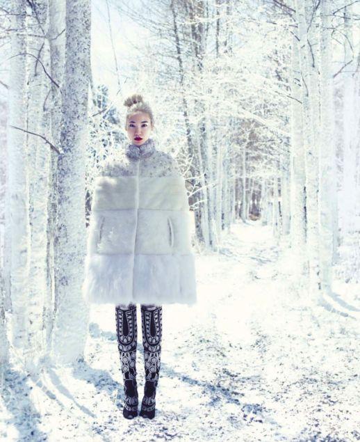 """""""Снежный ангел"""" в Harper's Bazaar US (фото 5)"""