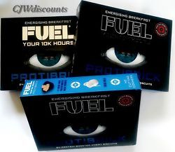 Fuel Protibrick 24 protein boosted wheat energising breakfast biscuits for men