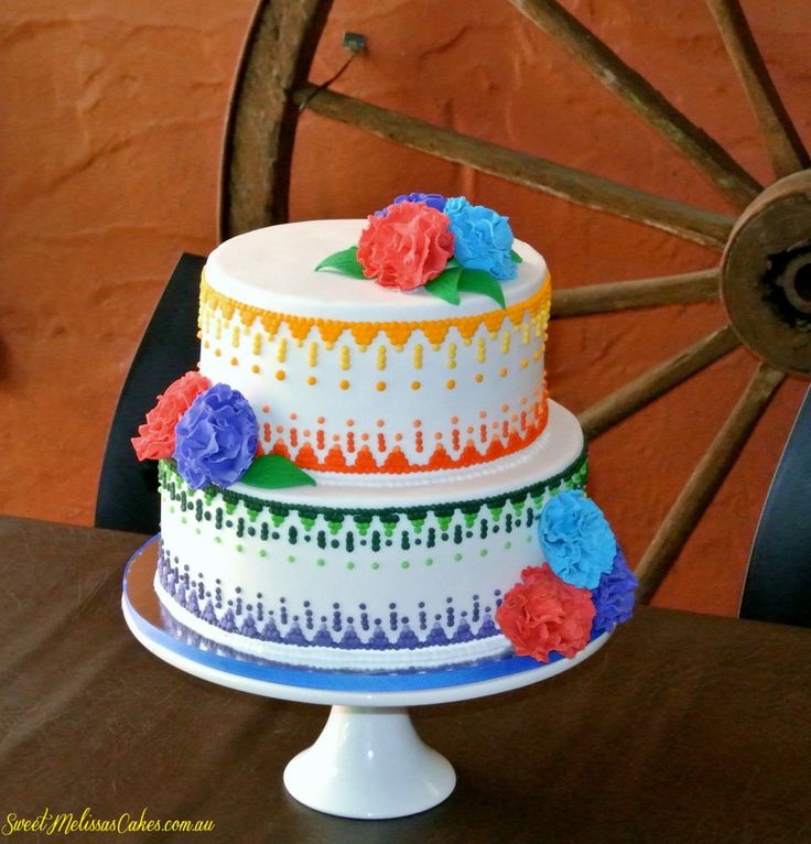 Mexican Wedding Cake Ideas and Designs