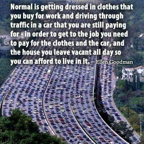 Maybe normal isn't so good after all!