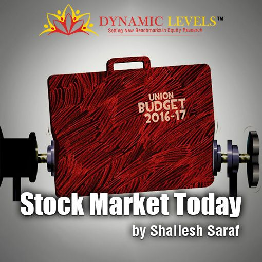 America is in a short term buy, Nifty trend will become clear after Union Budget 2016. Read the stock market outlook by Mr. Shailesh Saraf, MD, Dynamiclevels.