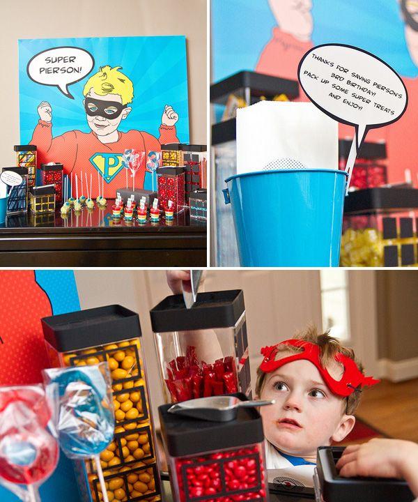169 Best Emma's Party - Super HERO Images On Pinterest