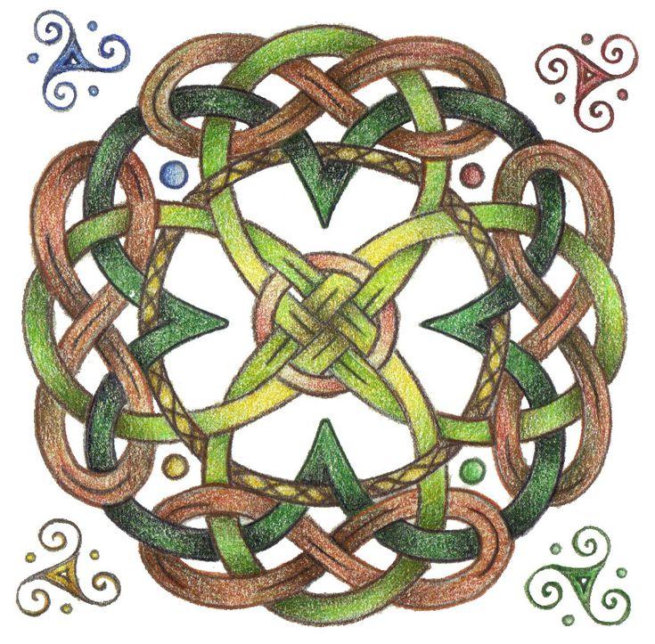 Eriu's Knot by Spiralpathdesigns.deviantart.com on @deviantART