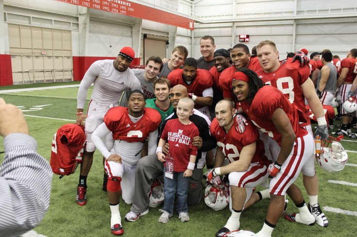 Team Jack - Jack has brain cancer. His biggest supporters are NE football team. He is their mascot.