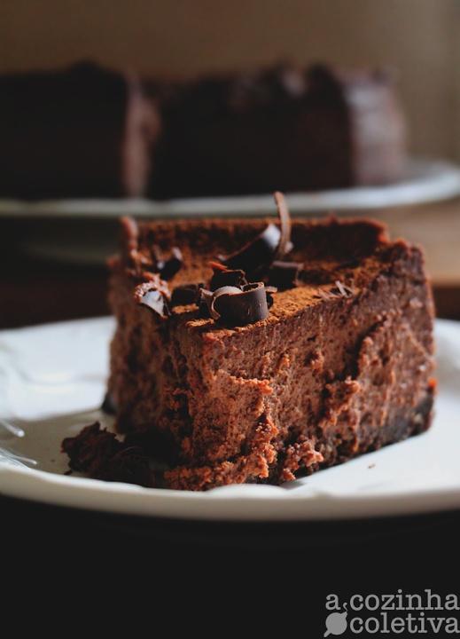 A Cozinha Coletiva: Cheesecake de Chocolate