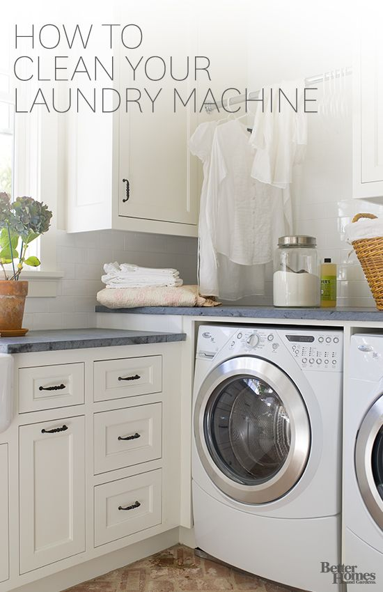 Learn how to clean a washing machine so the grimy buildup doesn't sneak its way onto your clean laundry: http://www.bhg.com/homekeeping/laundry-linens/tips-checklists/how-to-clean-washing-machine/?socsrc=bhgpin061814cleanwashingmachine