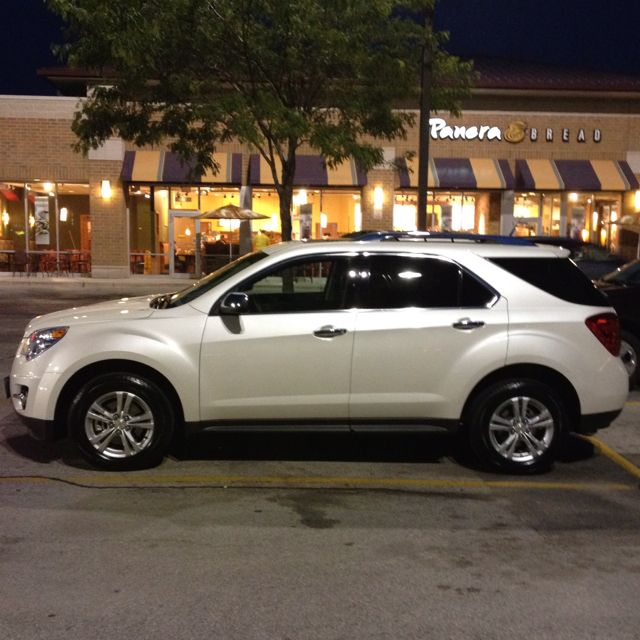 My new downsized Chevy Equinox, love it.