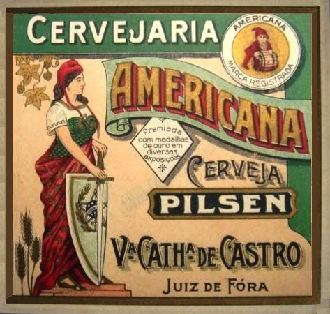 Cervejaria Americana - Cerveja Pilsen (Juiz de Fora/MG)